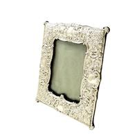 "Antique Edwardian Sterling Silver 8"" Photo Frame  1901 (10 of 10)"