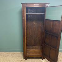 Quality Oak Antique Hall Cupboard / Wardrobe (4 of 7)