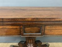 Regency Period Inlaid Rosewood Card Table (15 of 20)