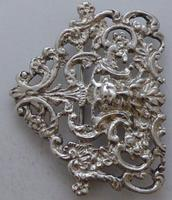 Victorian 1899 Hallmarked Solid Silver Nurses Belt Buckle Charles May of London (3 of 8)
