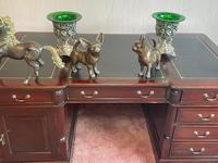 Large Georgian Style Double Sided Partners Desk (17 of 51)