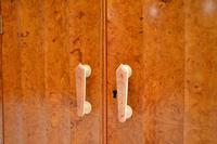 Art Deco Burr Walnut Cocktail Cabinet / Sideboard by Epstein (10 of 12)