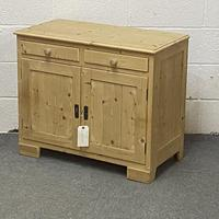 Small Old Pine Cupboard (3 of 4)