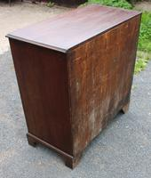 1880 Quality Oak Chest of 5 Drawers (4 of 4)