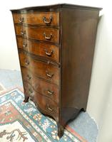 Mahogany Tallboy / Chest of Drawers (3 of 6)