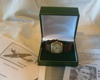WW2 9ct Gold Longines Gentlemans Wrist Watch 1937 Hurricane Pilot Providence (12 of 12)