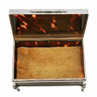 George V Silver & Tortoise Shell Box (4 of 8)