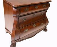 Dutch Bombe Commode Antique Chest of Drawers 1920 (7 of 13)