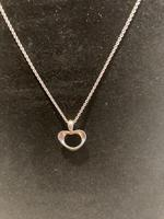 Georg Jensen Silver Heart Pendant (2 of 4)