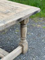 Rustic Bleached Oak French Farmhouse Dining Table (7 of 34)