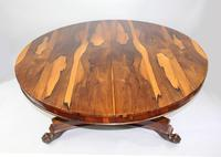 Fine William IV Sabina Wood Centre Table c.1830 (7 of 10)