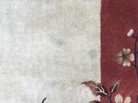 Antique Chinese Art Deco Carpet (12 of 12)