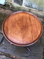 Antique Mahogany Tripod Wine Table (3 of 5)