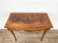 Reproduction Mahogany Bow Front Side Table (3 of 9)