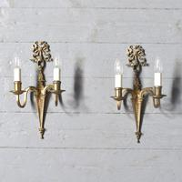 Pair of Adam Style Wall Sconces