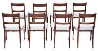 Set of 8 Mahogany Dining Chairs 19th Century c.1860 (2 of 8)