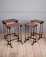 Edwardian Mahogany Nest of Tables (6 of 7)