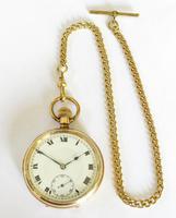 1920s Swiss Pocket Watch & Chain (2 of 5)
