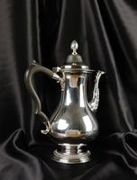 High Quality George III Style Silver Coffee Pot (4 of 10)