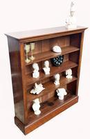 Victorian Mahogany Open Bookcase (5 of 5)