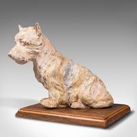 Antique Decorative West Highland Terrier, British, Westie Dog, Edwardian c.1910 (3 of 12)