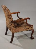 Substantial Early 20th Century  Gainsborough Style Mahogany Framed Armchair (4 of 6)