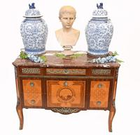 Neo Classical Swedish Commode Marquetry Chest of Drawers Scandanavian (2 of 16)
