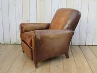 Pair of French Leather Club Chairs (7 of 9)