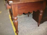 Square Side Table with Drawer (3 of 3)
