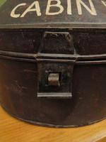 Antique Military Hat Tin Trunk, Lieutenant P Montgomery, A Quirky Bread Bin? (10 of 12)
