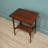 High Quality Edwardian Inlaid Antique Card Table (6 of 6)