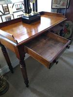 Victorian Mahogany Galleried Writing Table (3 of 6)