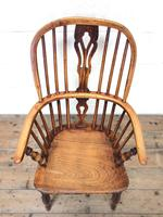 Antique Windsor Armchair in Elm & Ash (2 of 12)