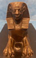 19th Century Bronze  Egyptian  Sphinx (5 of 11)