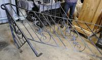 Unused Space Saver Iron Spiral Staircase with Hand Rails (4 of 12)