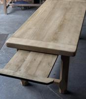 Bleached Oak Normandie Farmhouse Dining Table (4 of 10)