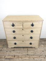 Victorian Antique Pine Chest of Drawers (9 of 10)