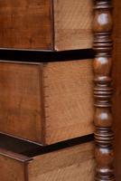Fine Quality, Georgian Mahogany Bow Fronted Chest of Drawers (12 of 16)