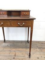 Antique Edwardian Mahogany Bonheur Du Jour Desk (10 of 15)