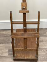 Mid 20th Century Artists Studio Tabletop Easel with Carry Handle & Drawer (7 of 28)