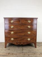 19th Century Mahogany Bow Front Chest of Drawers (2 of 18)