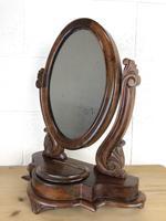 Small Victorian Mahogany Bedroom Swing Mirror (2 of 8)