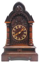 Rare Junghans Cuckoo Mantel Clock – German Black Forest Mantle Clock (2 of 12)