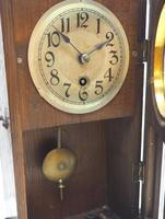 Antique German Mantel Clock Bevelled 4 Glass Mantle Clock by Hac (12 of 13)