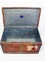 WW1 Era Marshall Campaign Chest / Trunk, Labels & Provenance (16 of 23)