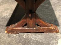 Huge Rustic Chestnut French Farmhouse Dining Table (12 of 27)