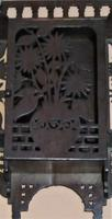 Small English Aesthetic Period Wall-hanging Cabinet in Japanese Style (4 of 4)
