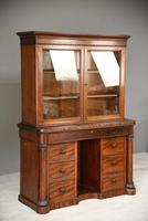Antique Victorian Mahogany Gentlemans Dressing Table Bathroom Cabinet (11 of 12)