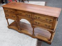 1960s Golden Oak Potboard Dresser Base - Variety of Uses (2 of 5)