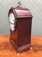 Edwardian Inlaid Mahogany Bracket Clock (6 of 11)